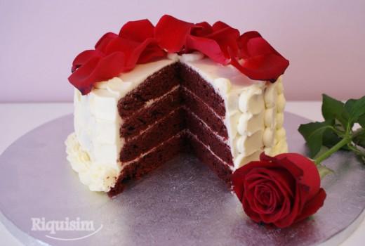 Tarta Terciopelo Rojo1