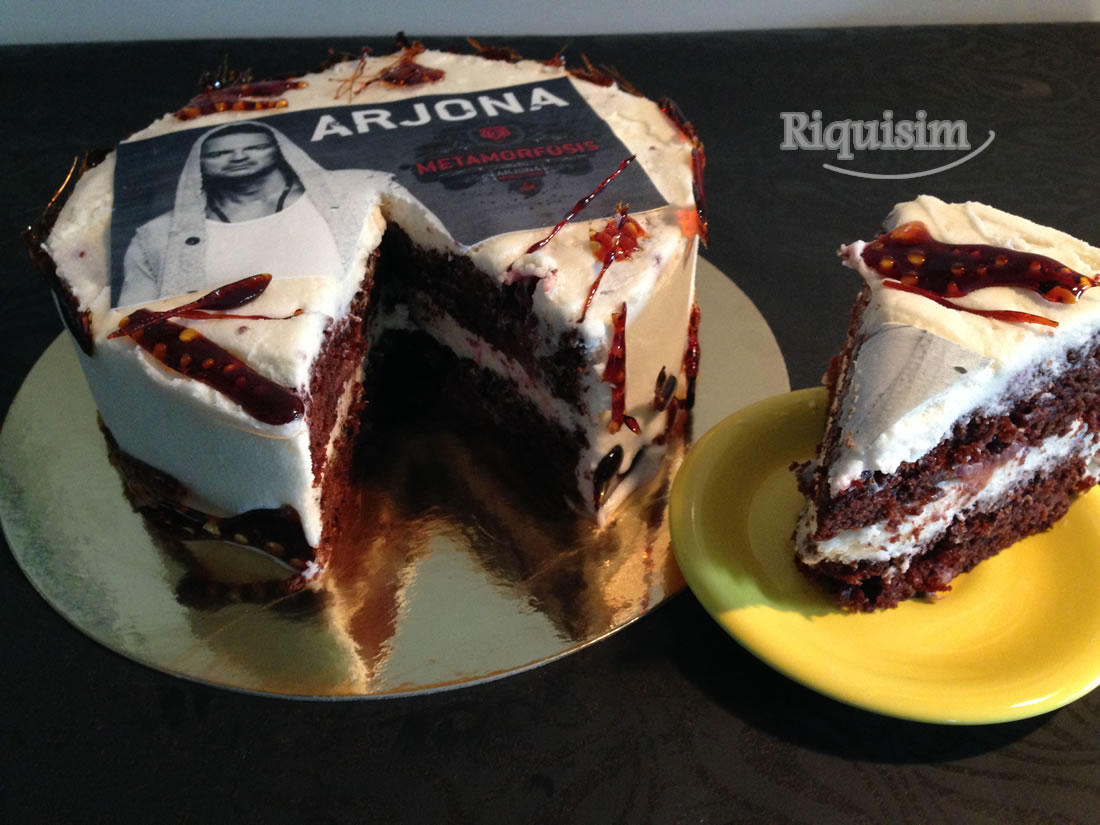 Torta Ricardo Arjona